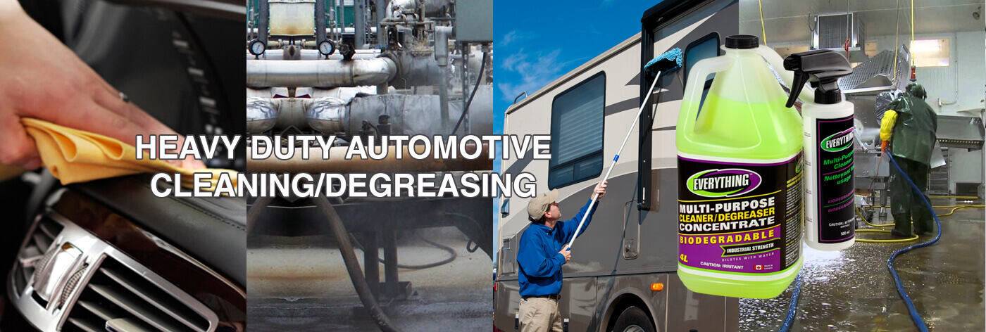 HEAVY DUTY AUTOMOTIVE CLEANING/DEGREASEING