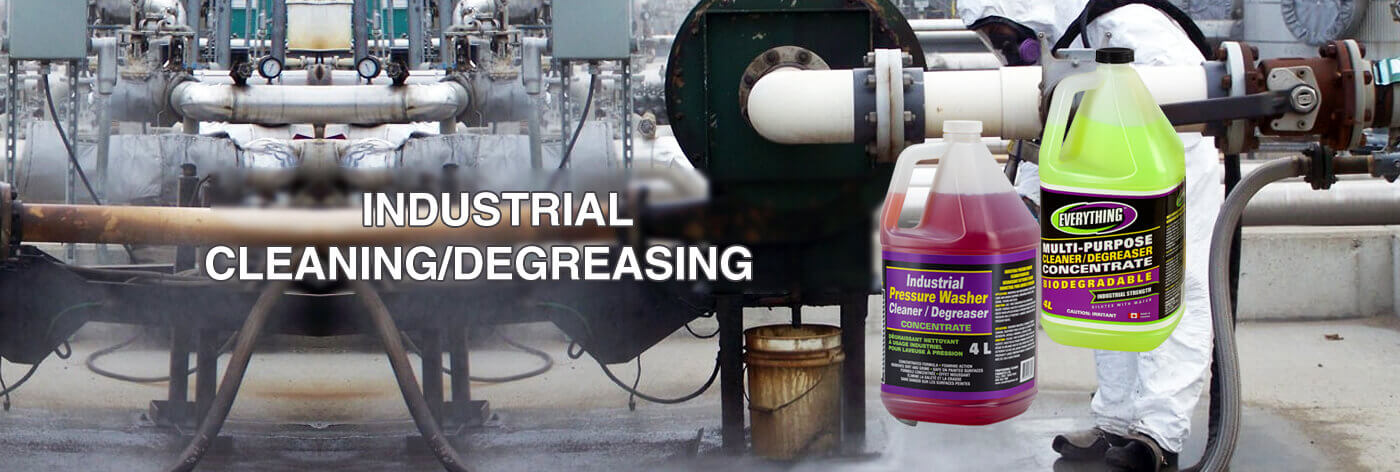 INDUSTRIAL CLEANING/DEGREASING