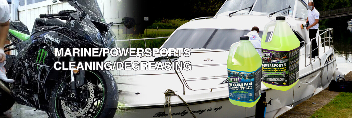 MARINE/POWERSPORTS CLEANING/DEGREASING